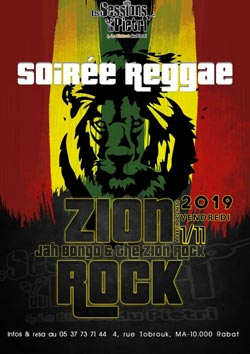 Jah Bongo & the Zion Rock