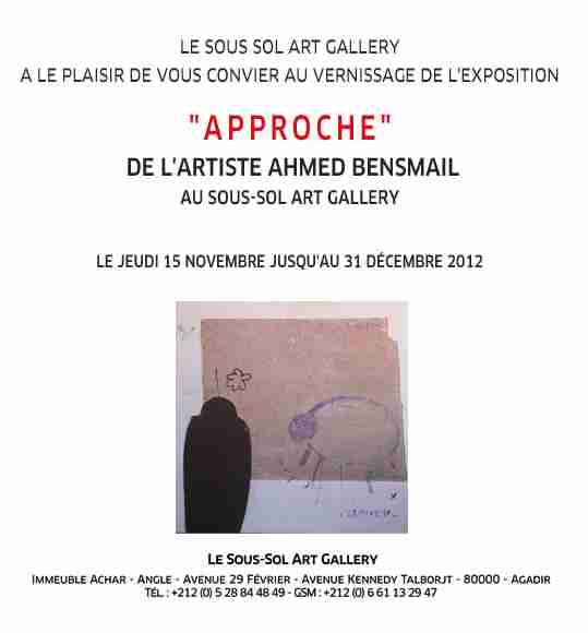 Ahmed Bensmail: Approche